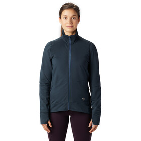 Mountain Hardwear Norse Peak Veste zippée Femme, light zinc
